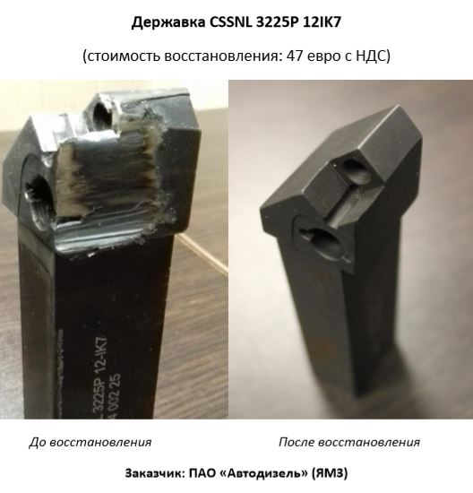 Державка CSSNL 3225P 12IK7