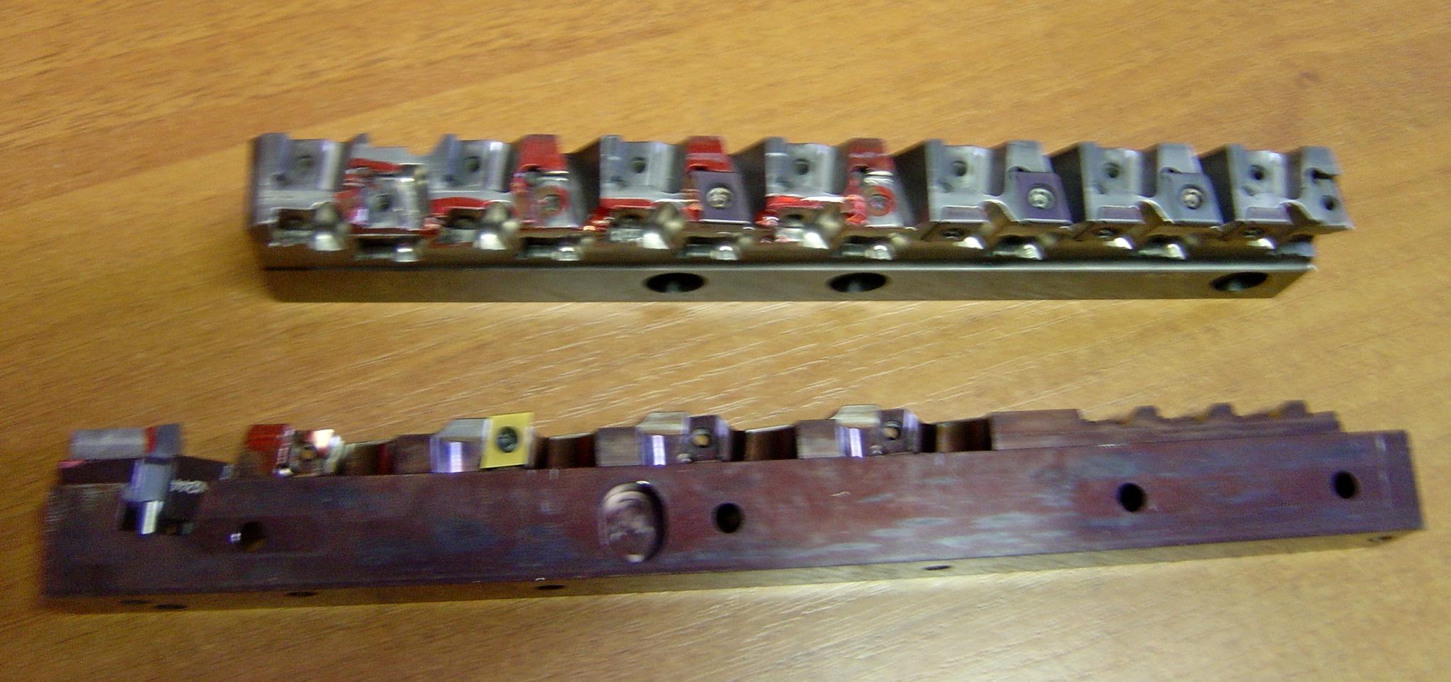 Ремонт инструмента со сменными пластинами